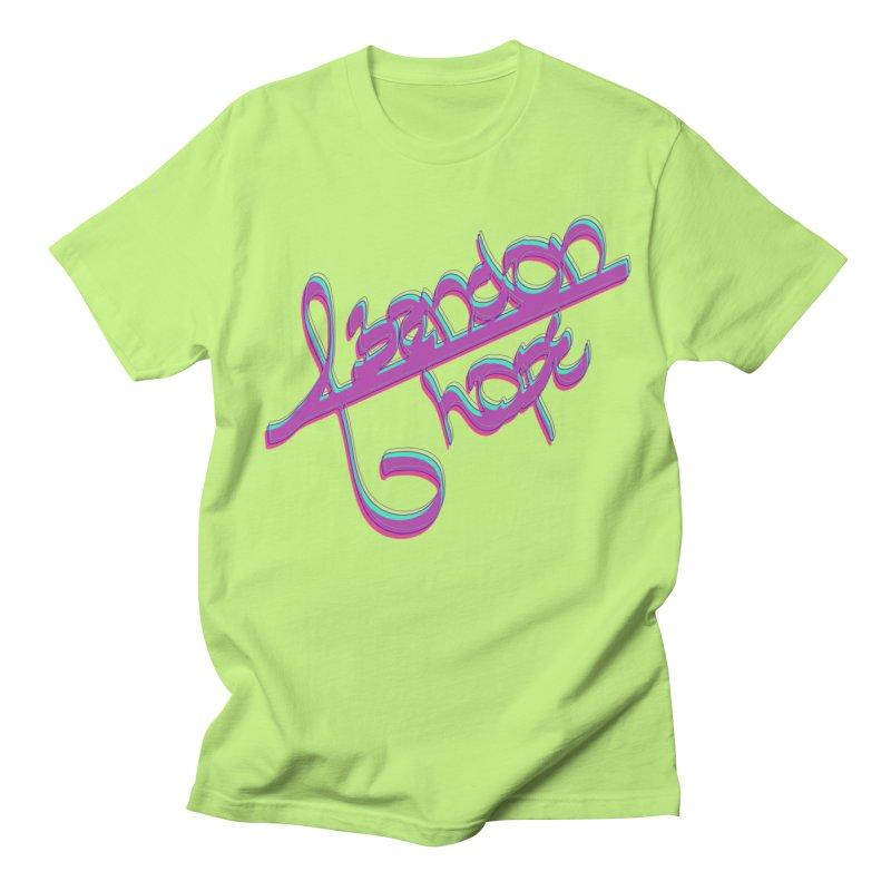 Abandon Hope Men's Regular T-Shirt by Demeter Designs Artist Shop
