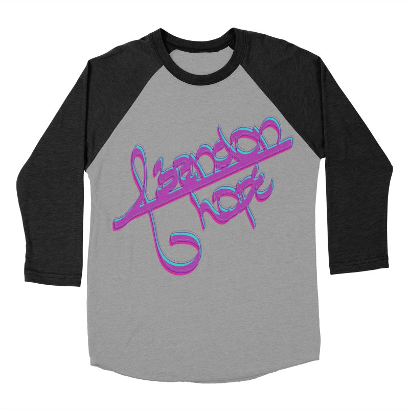 Abandon Hope Women's Baseball Triblend Longsleeve T-Shirt by Demeter Designs Artist Shop