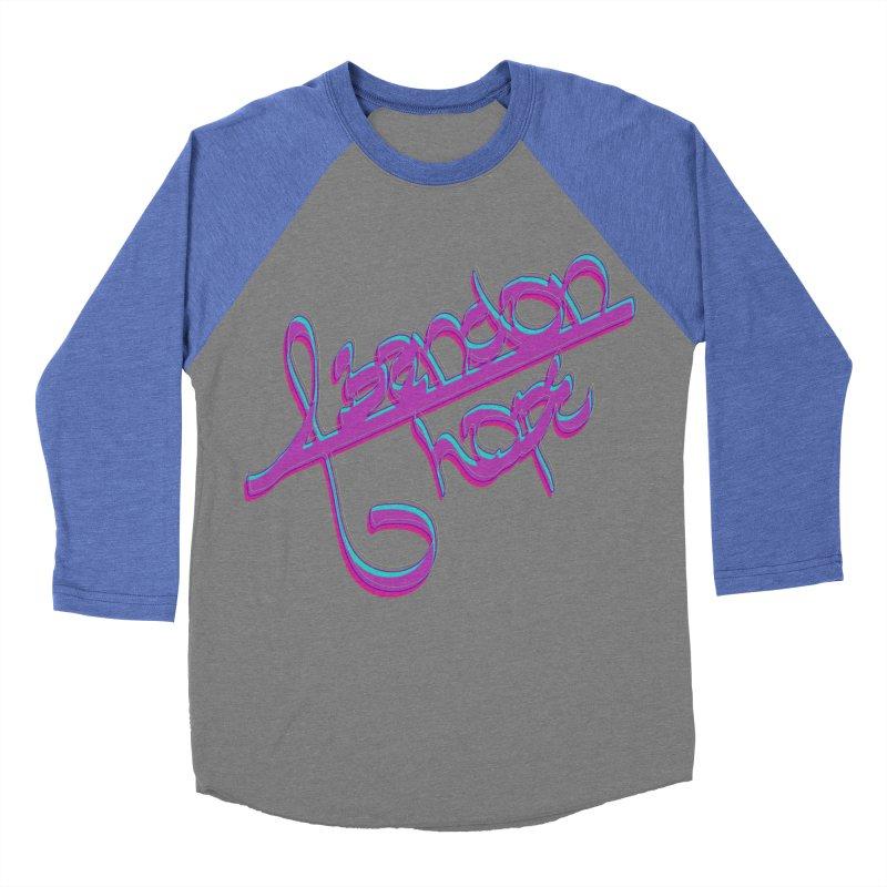Abandon Hope Men's Baseball Triblend Longsleeve T-Shirt by Demeter Designs Artist Shop