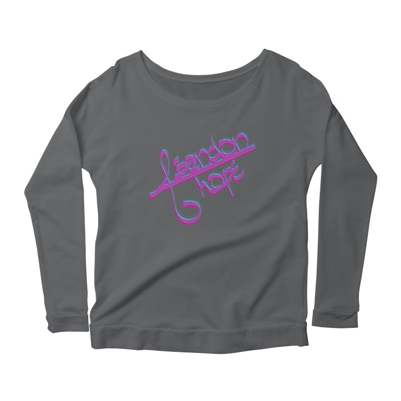 Abandon Hope Women's Scoop Neck Longsleeve T-Shirt by Demeter Designs Artist Shop