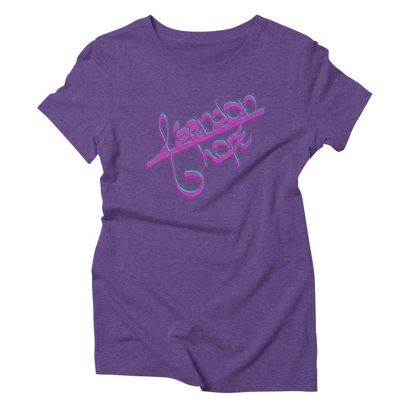 Abandon Hope Women's Triblend T-Shirt by Demeter Designs Artist Shop