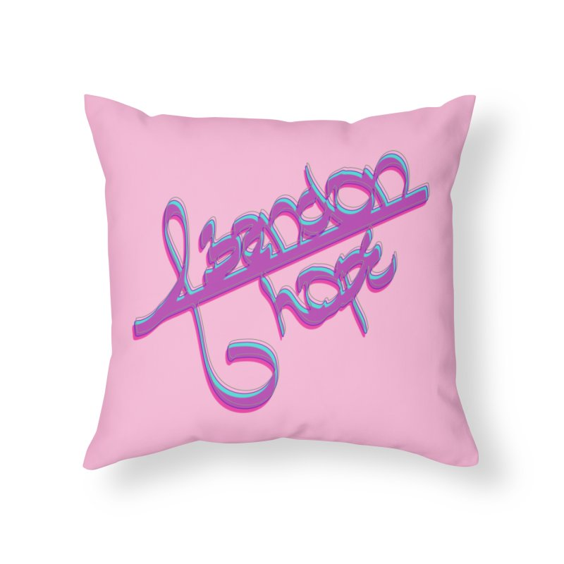 Abandon Hope Home Throw Pillow by Demeter Designs Artist Shop