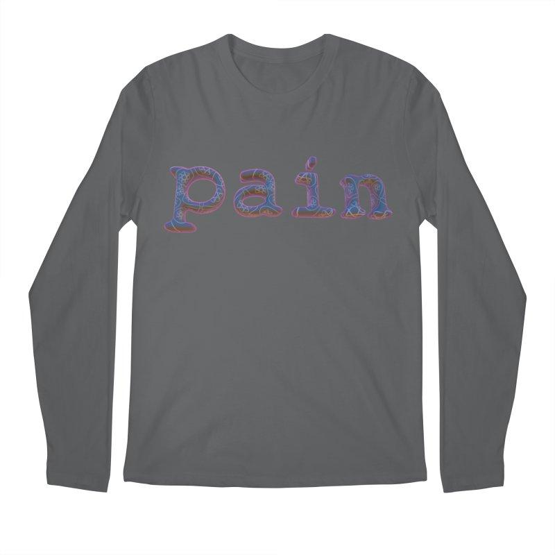Pain Men's Longsleeve T-Shirt by Demeter Designs Artist Shop