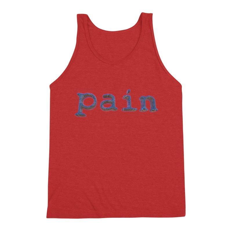 Pain Men's Triblend Tank by Demeter Designs Artist Shop
