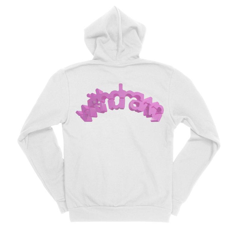 withdrawn Men's Sponge Fleece Zip-Up Hoody by Demeter Designs Artist Shop