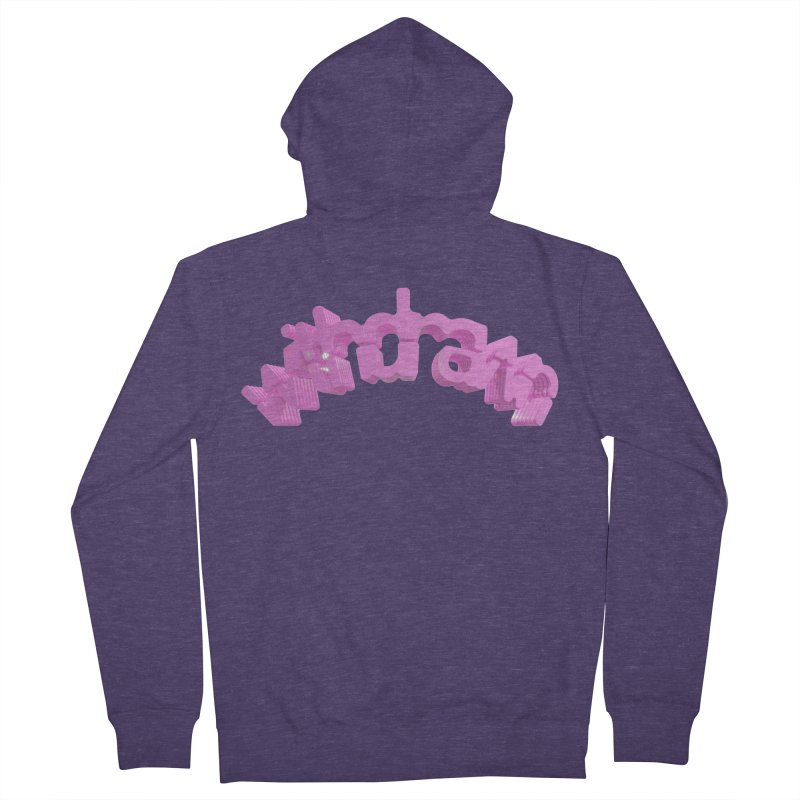 withdrawn Men's French Terry Zip-Up Hoody by Demeter Designs Artist Shop