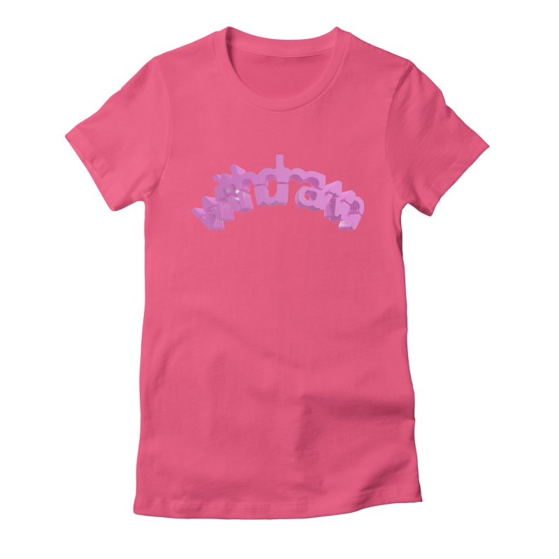 withdrawn Women's Fitted T-Shirt by Demeter Designs Artist Shop