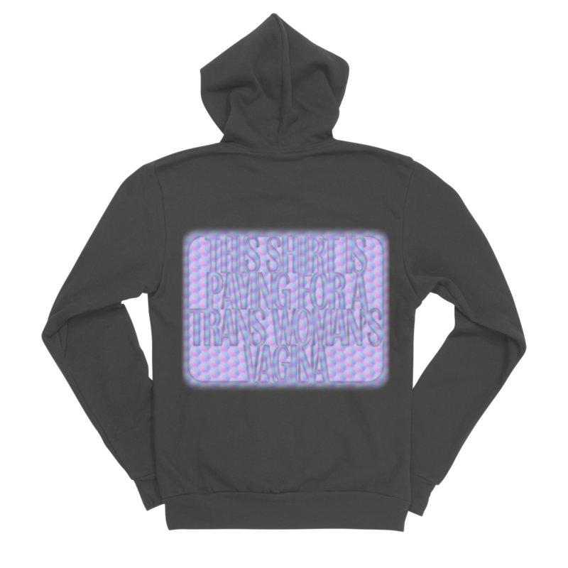 Adopt A Trans Girl Men's Sponge Fleece Zip-Up Hoody by Demeter Designs Artist Shop