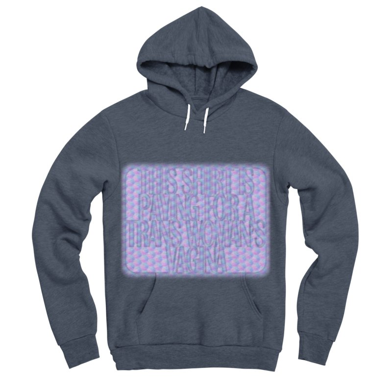 Adopt A Trans Girl Men's Sponge Fleece Pullover Hoody by Demeter Designs Artist Shop