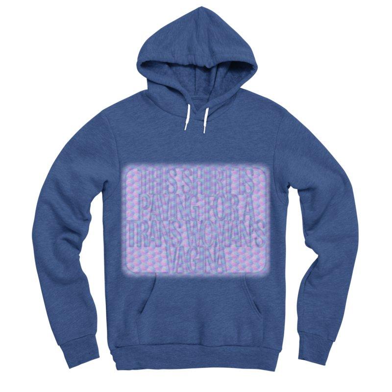Adopt A Trans Girl Men's Sponge Fleece Pullover Hoody by Demeter Designs Artist Shop