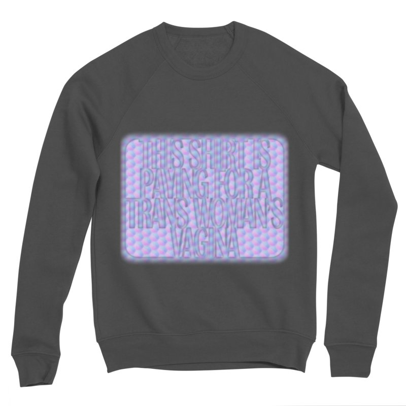 Adopt A Trans Girl Men's Sponge Fleece Sweatshirt by Demeter Designs Artist Shop