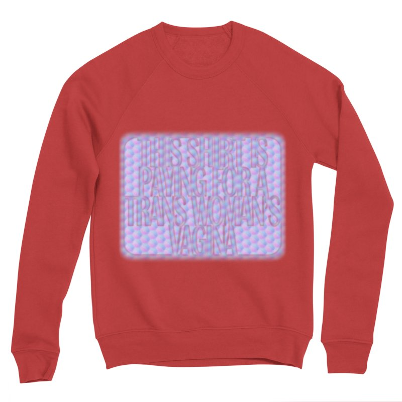 Adopt A Trans Girl Men's Sponge Fleece Sweatshirt by Demeter Designs Artist Shop