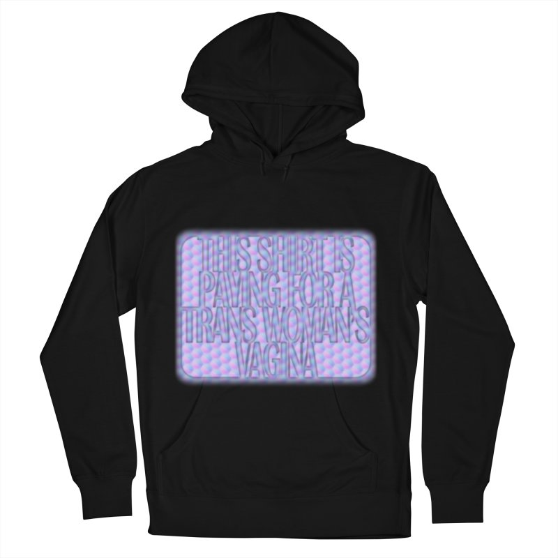 Adopt A Trans Girl Men's French Terry Pullover Hoody by Demeter Designs Artist Shop