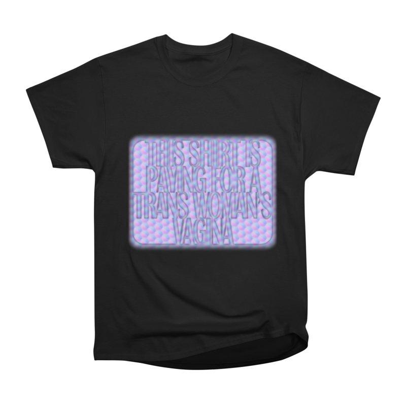 Adopt A Trans Girl Women's Heavyweight Unisex T-Shirt by Demeter Designs Artist Shop