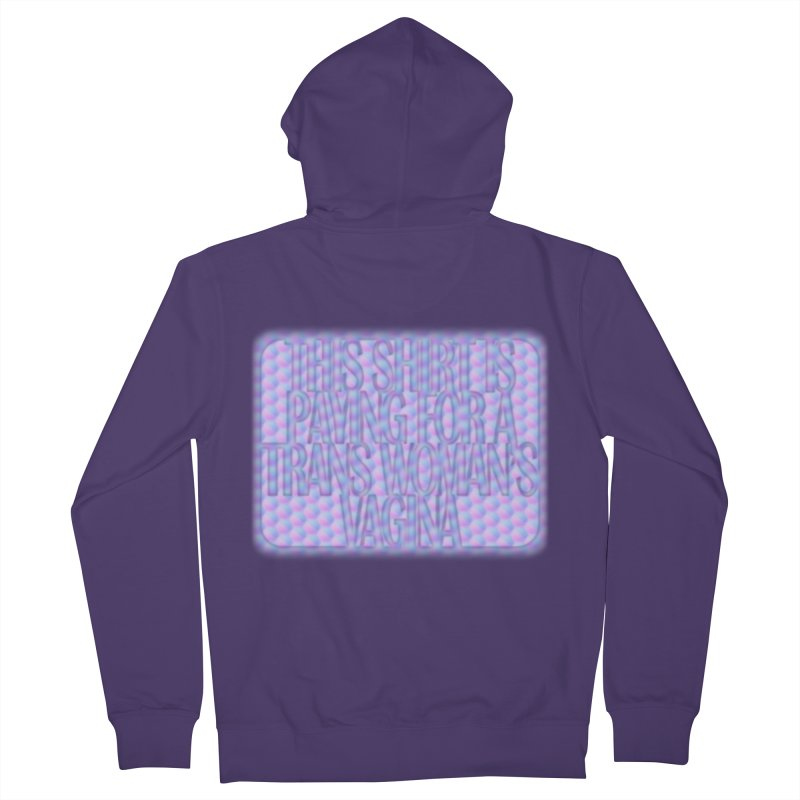 Adopt A Trans Girl Women's French Terry Zip-Up Hoody by Demeter Designs Artist Shop