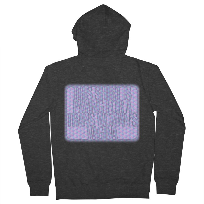 Adopt A Trans Girl Men's French Terry Zip-Up Hoody by Demeter Designs Artist Shop