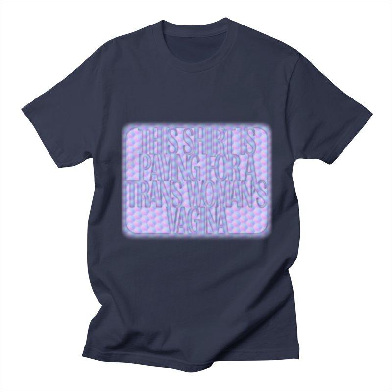 Adopt A Trans Girl Men's Regular T-Shirt by Demeter Designs Artist Shop