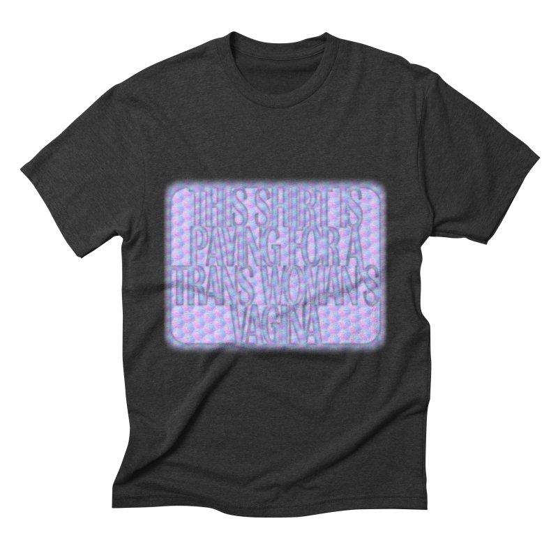 Adopt A Trans Girl Men's Triblend T-Shirt by Demeter Designs Artist Shop