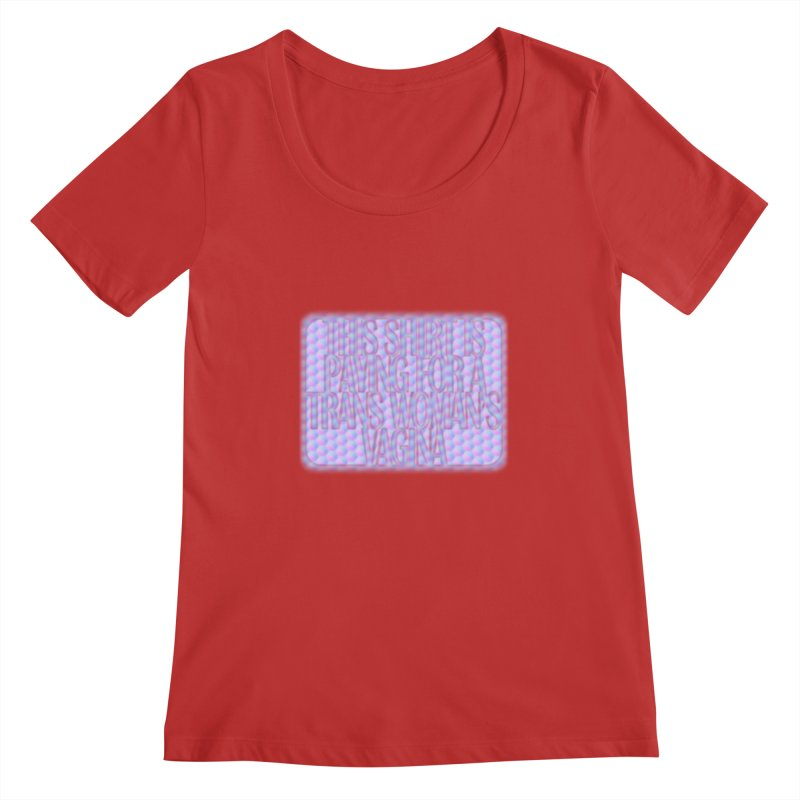 Adopt A Trans Girl Women's Scoop Neck by Demeter Designs Artist Shop