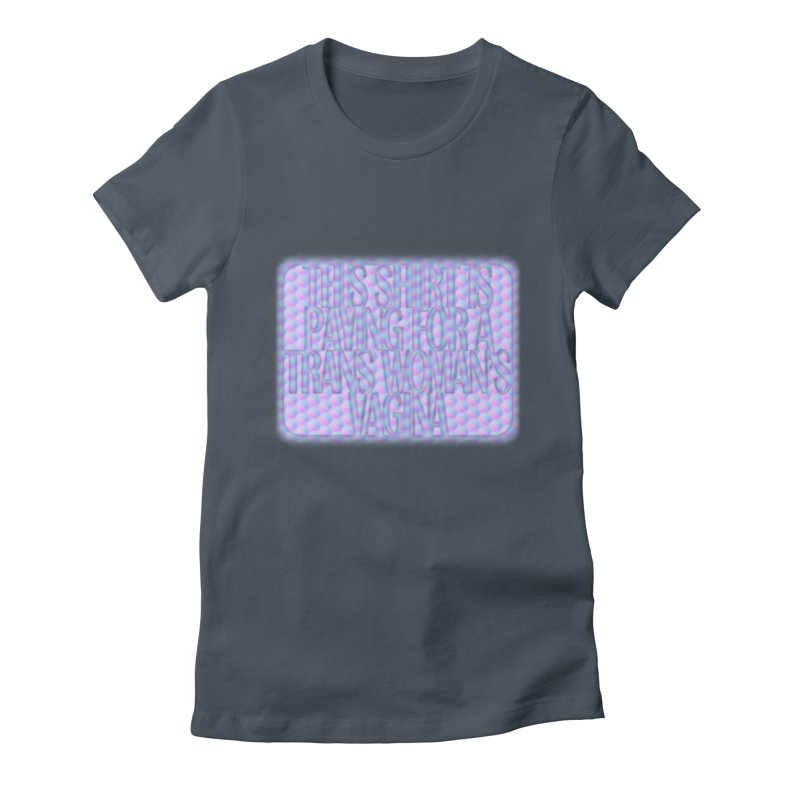 Adopt A Trans Girl Women's Fitted T-Shirt by Demeter Designs Artist Shop