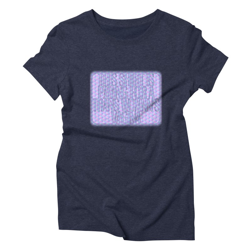 Adopt A Trans Girl Women's Triblend T-Shirt by Demeter Designs Artist Shop