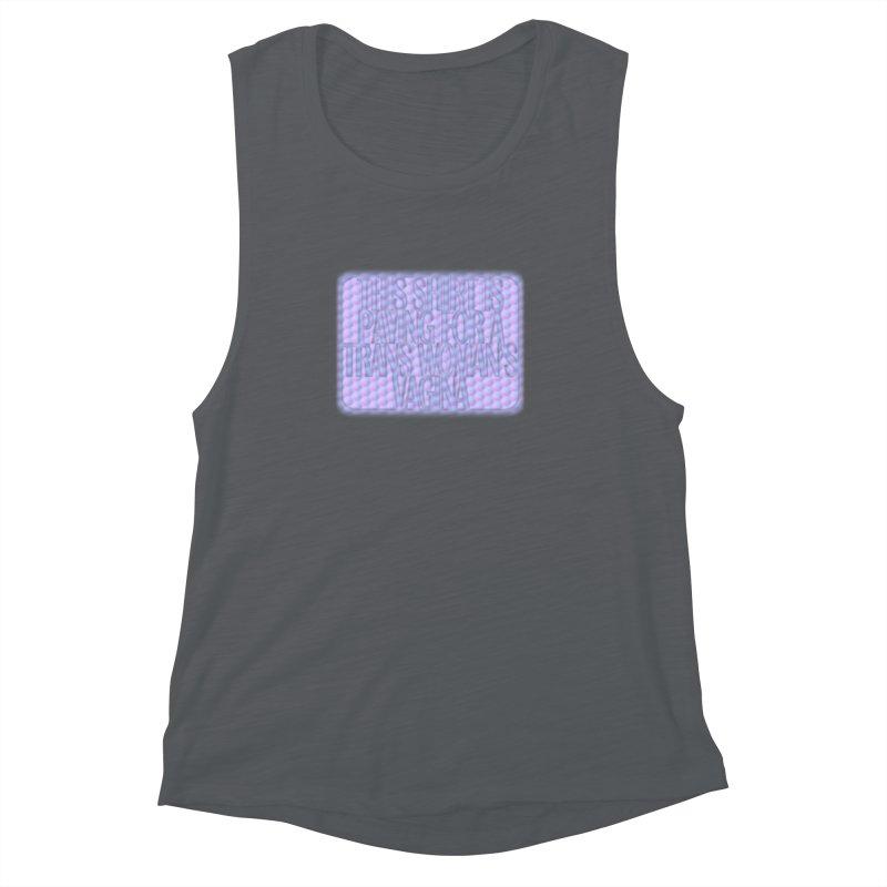 Adopt A Trans Girl Women's Muscle Tank by Demeter Designs Artist Shop