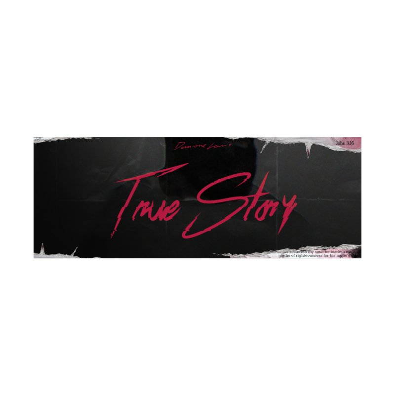 True Story Banner Kids Baby T-Shirt by Demione Louis Shop