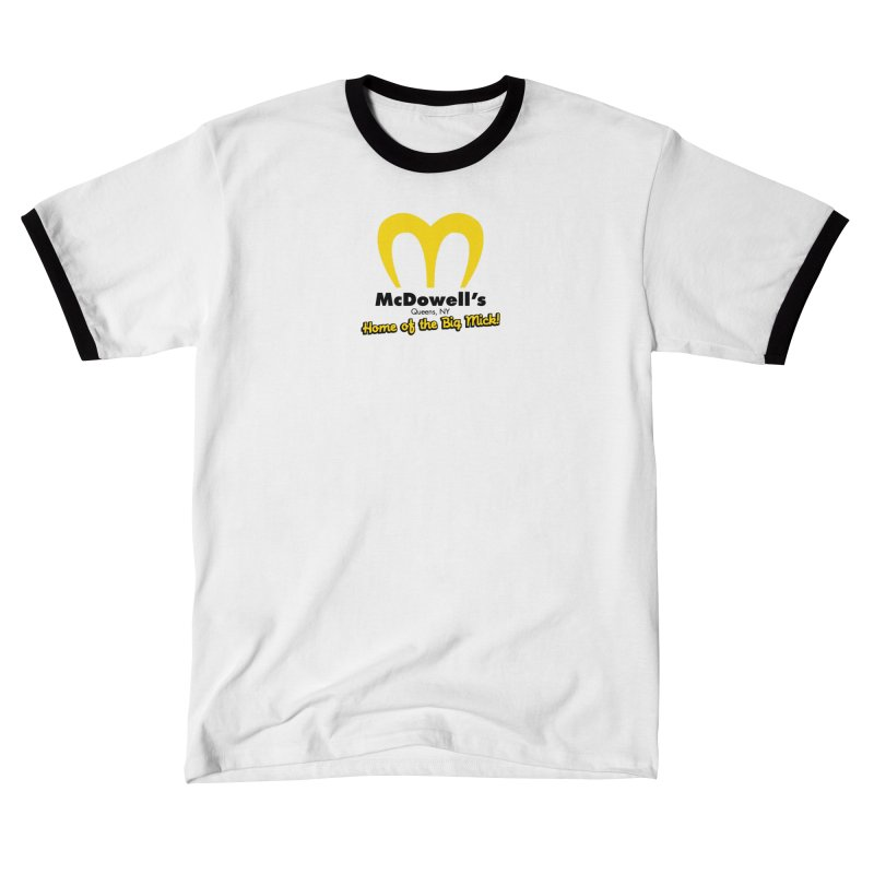 McDowell's, Queens NY Men's T-Shirt by Demione Louis Shop