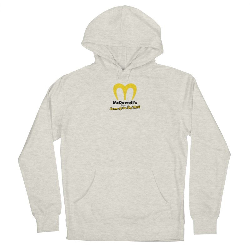 McDowell's, Queens NY Men's Pullover Hoody by Demione Louis Shop