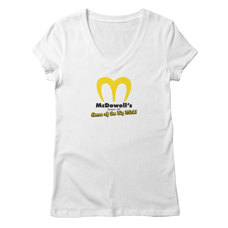 McDowell's, Queens NY Women's V-Neck by Demione Louis Shop