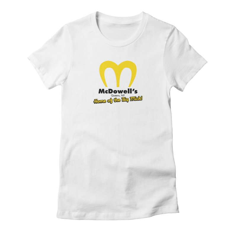 McDowell's, Queens NY Women's T-Shirt by Demione Louis Shop