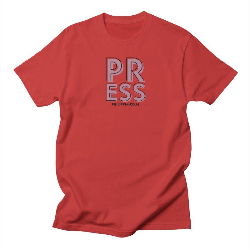 Press Men's T-Shirt by Demione Louis Shop