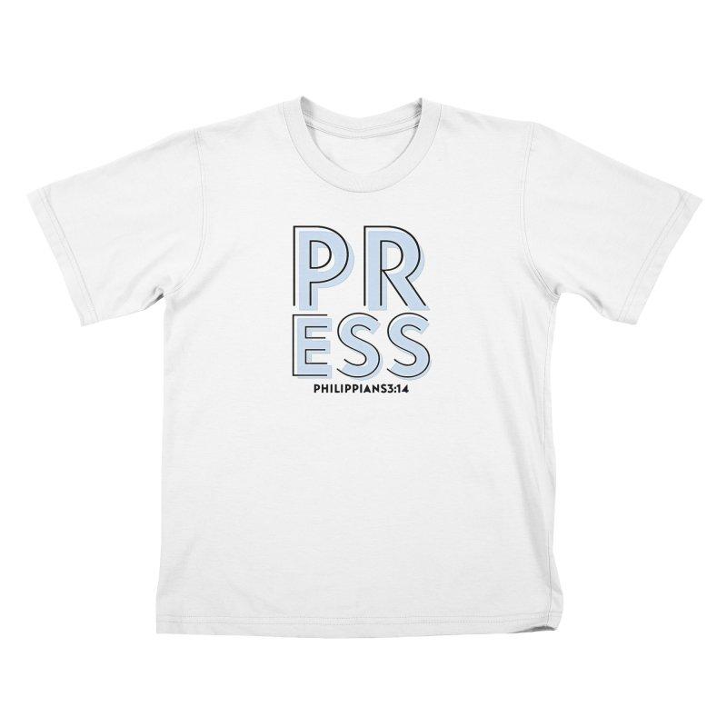 Press Kids T-Shirt by Demione Louis Shop