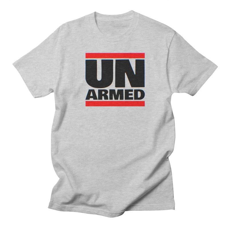 UN Armed   White Men's T-Shirt by Demione Louis Shop