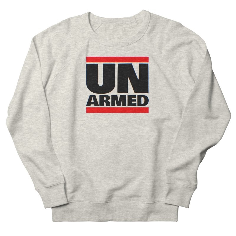 UN Armed   White Men's Sweatshirt by Demione Louis Shop