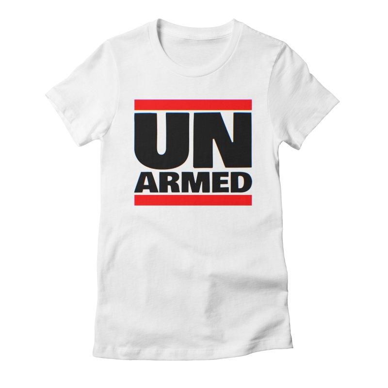 UN Armed | White Women's T-Shirt by Demione Louis Shop