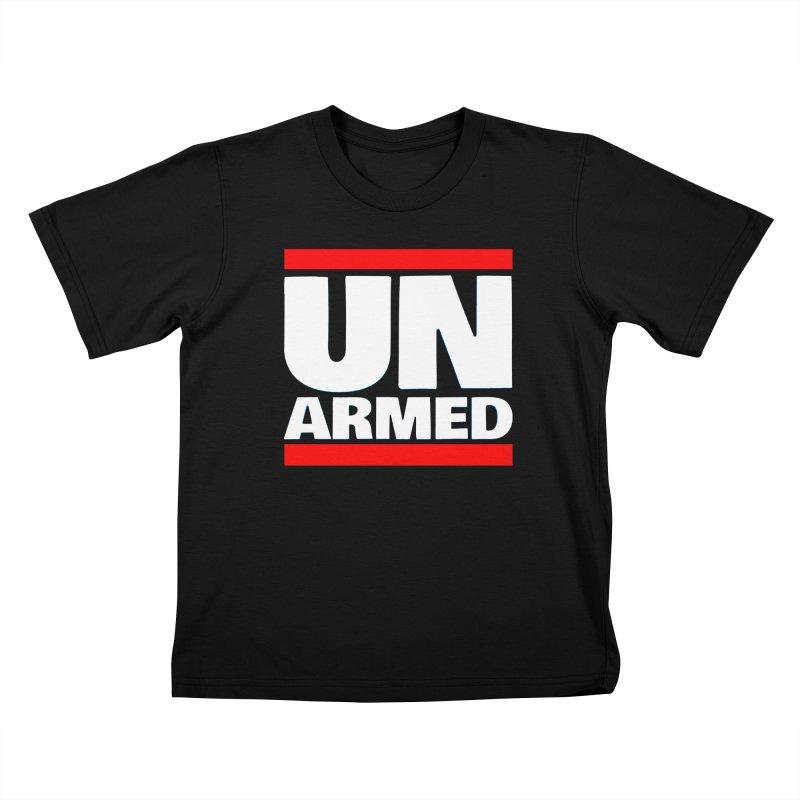 UN Armed   Black Kids T-Shirt by Demione Louis Shop
