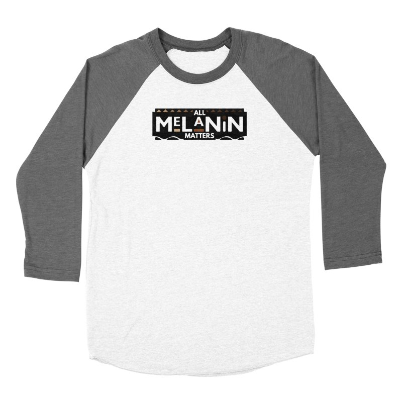 All Melanin Matters Women's Longsleeve T-Shirt by Demione Louis Shop