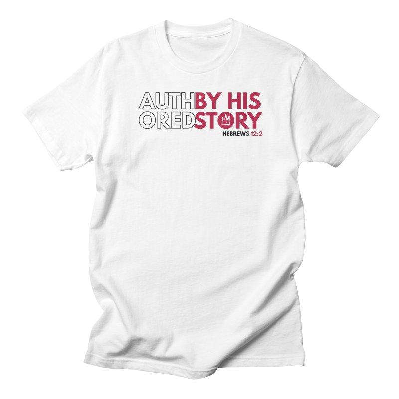 """""""True Story"""" T-Shirt (White) Men's T-Shirt by Demione Louis Shop"""