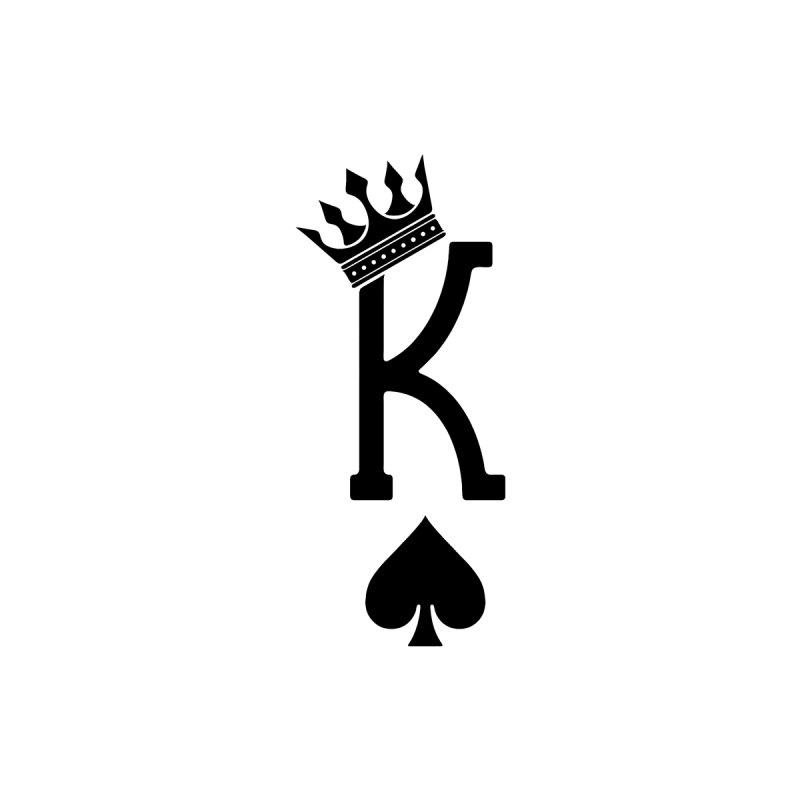 King Of Spades Men's T-Shirt by Demione Louis Shop