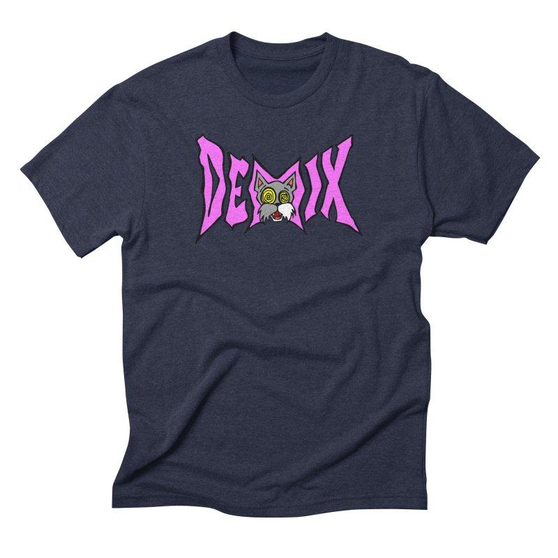 DEMIX kitty logo Men's T-Shirt by THE DEMIX