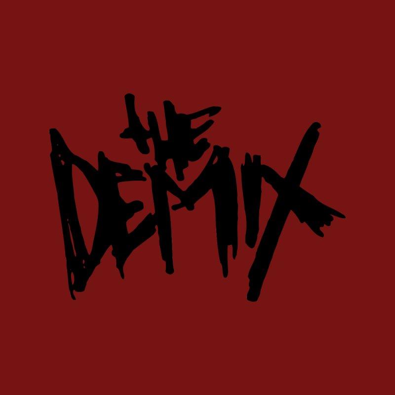 THE DEMIX classic black logo Men's T-Shirt by THE DEMIX