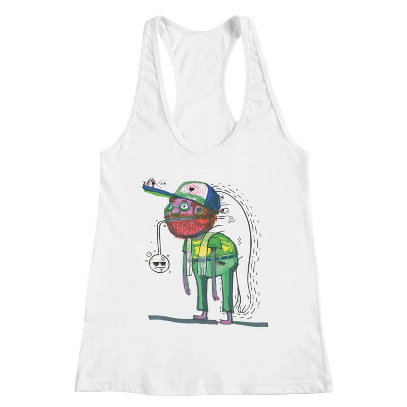 Not-So-Imaginary Friends Women's Racerback Tank by Democratee