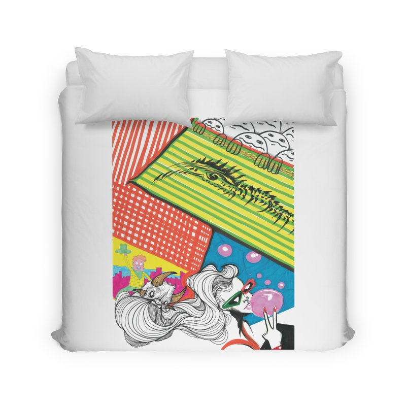 Life's a Party Home Duvet by Democratee