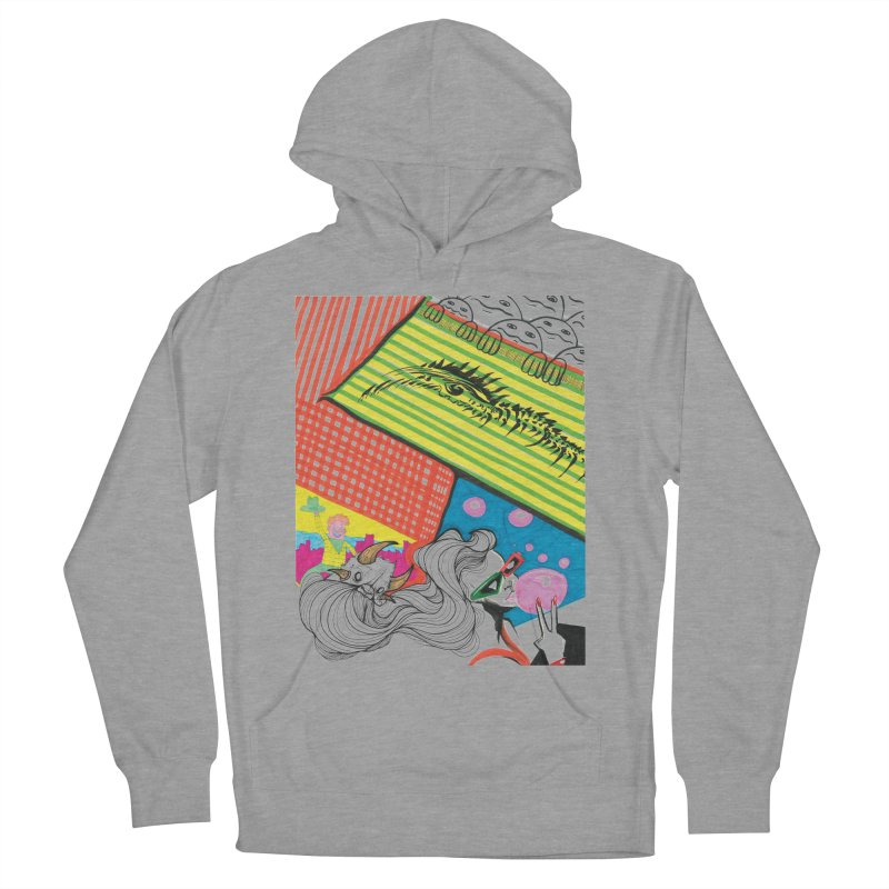 Life's a Party Women's French Terry Pullover Hoody by Democratee