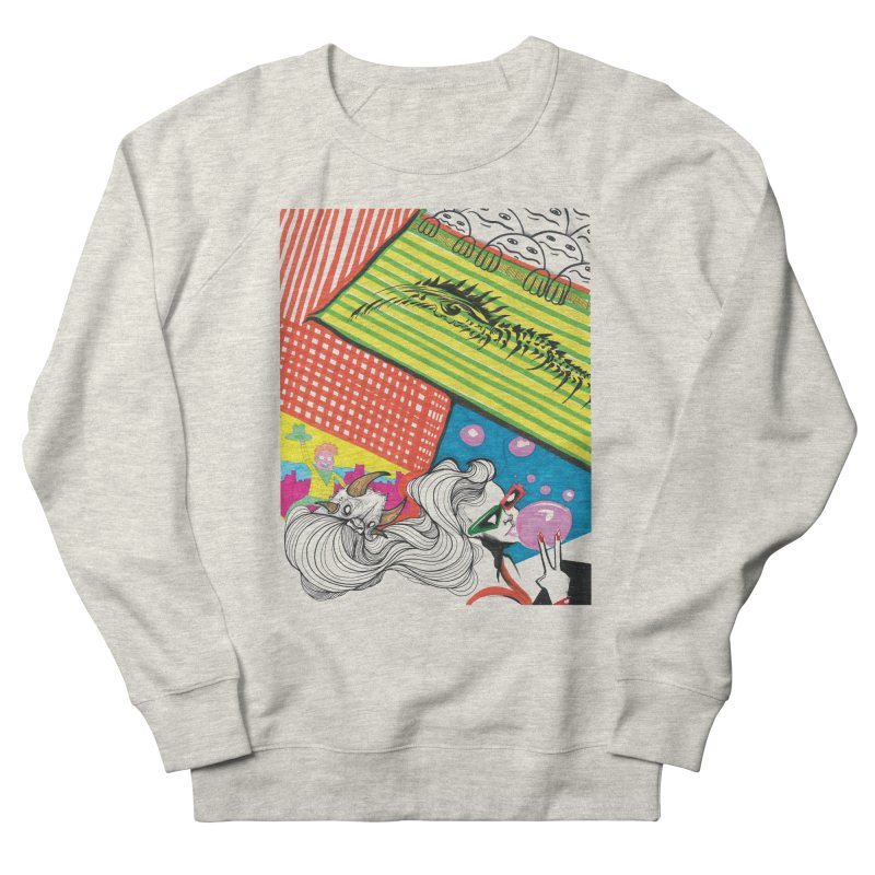 Life's a Party Women's French Terry Sweatshirt by Democratee