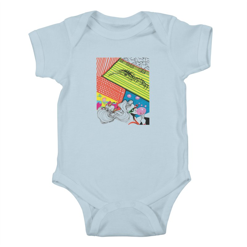 Life's a Party Kids Baby Bodysuit by Democratee