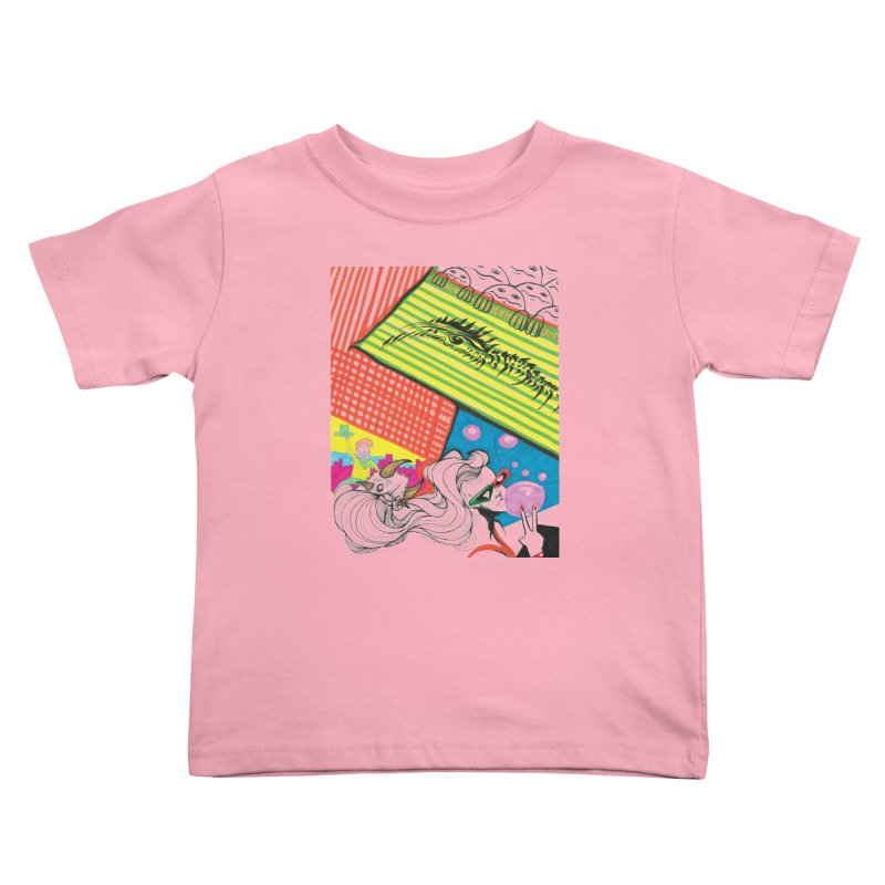 Life's a Party Kids Toddler T-Shirt by Democratee