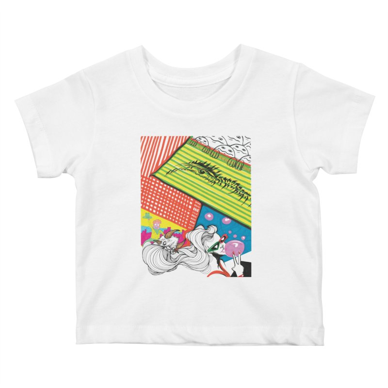 Life's a Party Kids Baby T-Shirt by Democratee