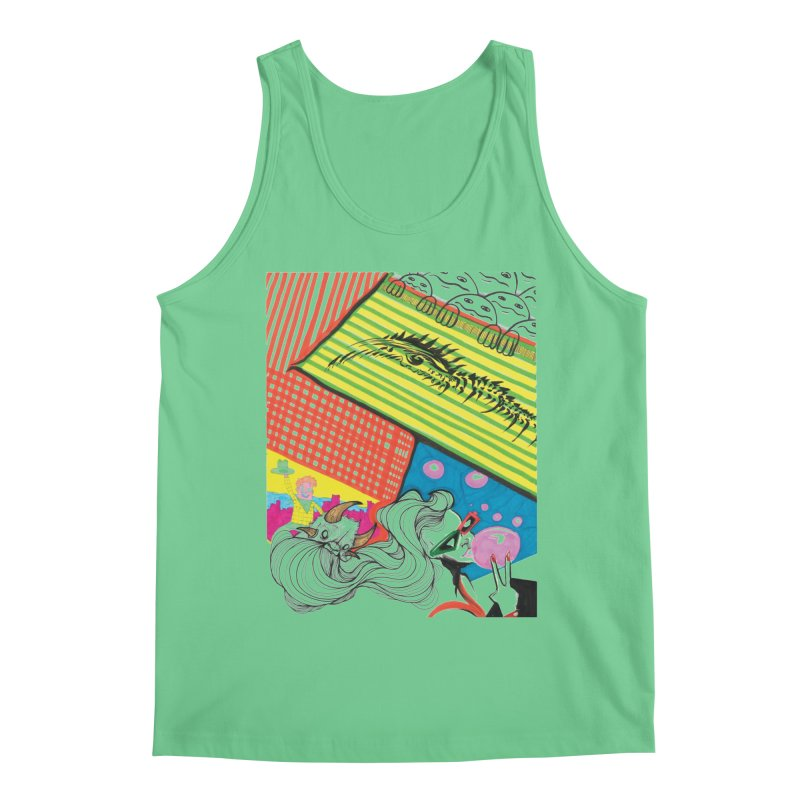 Life's a Party Men's Regular Tank by Democratee